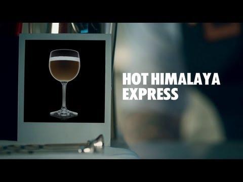 HOT HIMALAYA EXPRESS DRINK RECIPE - HOW TO MIX