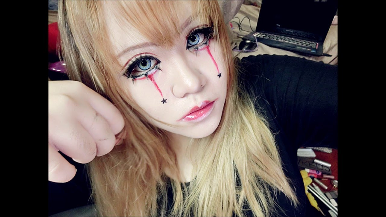 Visual Kei Make Up Tutorial Youtube
