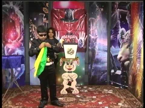 Magician Antarjit in a TV Show  