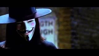 "отрывок из фильма ""В значит Вендетта"" (V for Vendetta)"