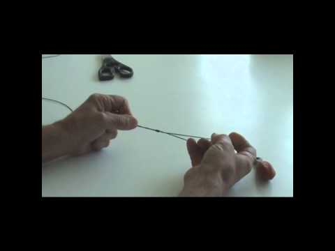 Fishing Knots: How To Attach A Sinker Using An End Loop