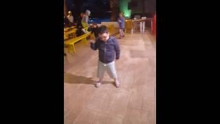 Majorca kids club dancing
