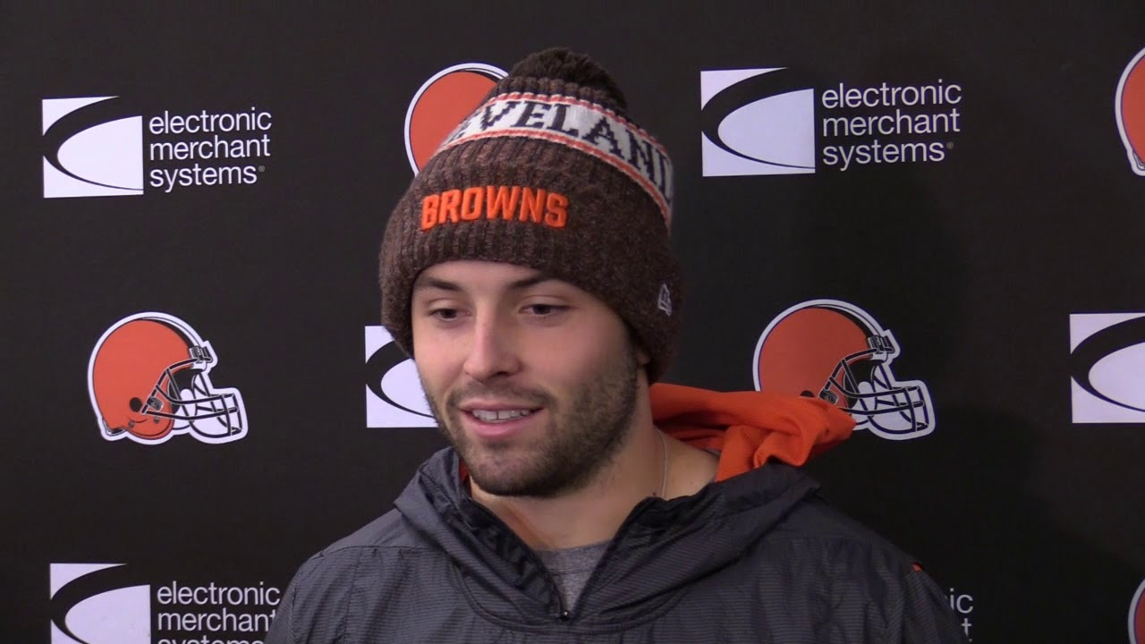 31c4c6689a8 Cleveland Browns QB Baker Mayfield on targeting, starting games faster