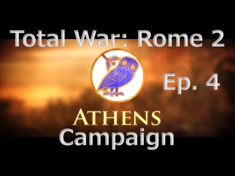 Total War: Rome 2 Athenian Campaign Ep. 4 - Epirus Lives On