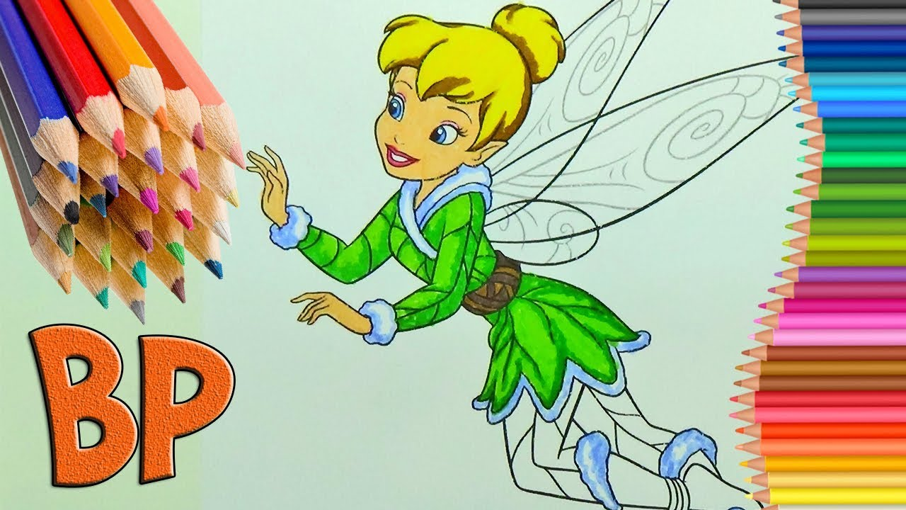 Disney Fairies Tinker Bell Tink Cloring Book Coloring Pages