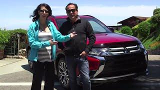 2016 Mitsubishi Outlander His Turn - Her Turn Car Review: Lauren Fix & Javier Mota