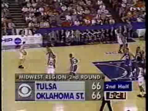 03/20/1994 NCAA Midwest Regional 2nd Round: #12 Tulsa Golden Hurricane vs. #4 Oklahoma State Cowboys