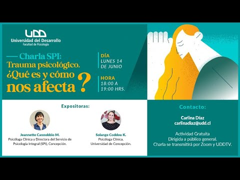 Charla SPI: Trauma psicológico ¿Qué es y cómo nos afecta?