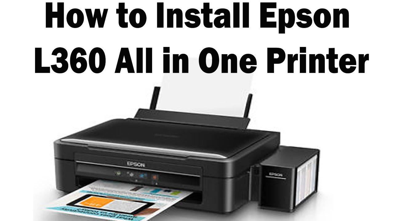 Download driver epson l360 untuk windows 10 | Epson Printer