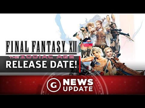 Final Fantasy 12 Remaster Release Date Announced - GS News Update