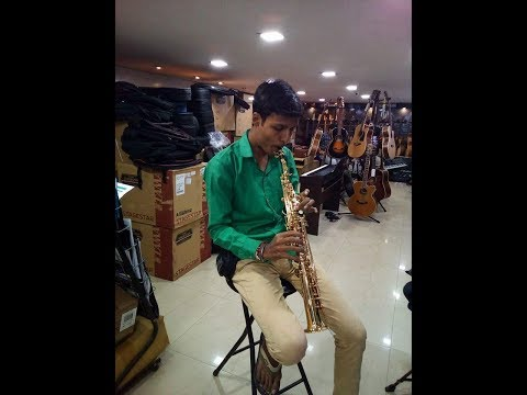 Beautiful Song O Hansini Saxophone Covered  By Sumit Awasthi