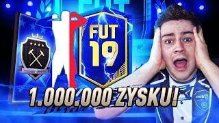 PACZKA Z TOTSAMI LA LIGA ZA ELITĘ II! MILION ZYSKU! NAGRODY ZA FUT CHAMPIONS! | FIFA 19 JUNAJTED