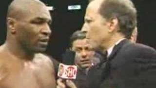 Mike Tyson Broken Back Interview