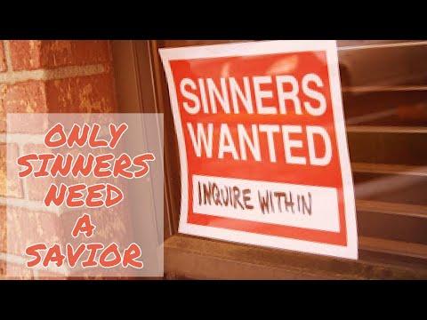 "Wayne Lawhorn ""Only Sinners Need a Savior"""