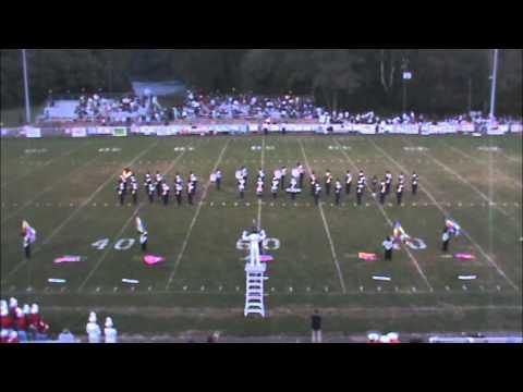 Covington High School Marching Band - 8-24-2012
