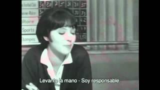 """Anna Karina - escena en """"Vivre sa vie"""" - Subtitulado - HD"""