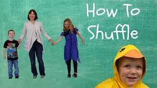 How to Shuffle: Basic Tap Steps for Kids