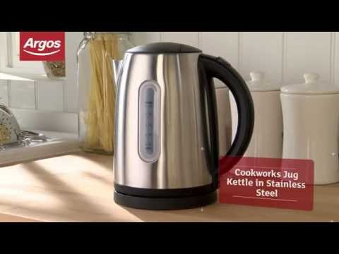 Cookworks WK8256HY Stainless Steel Jug Kettle - Argos Review