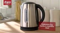 Cookworks WK8256HY Stainless Steel Jug Kettle - Argos Review