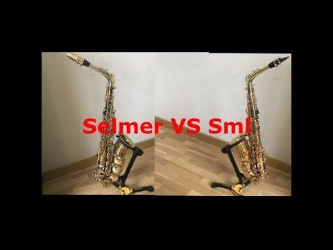 Selmer VS Sml (Hallelujah Saxophone alto)