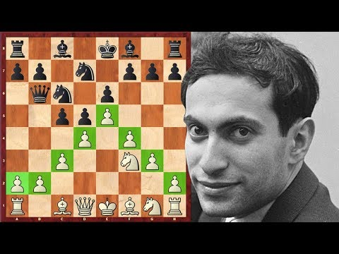"""This Game Put An End To Mikhail Tal's """"French Career"""""""