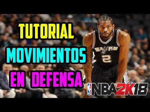 NBA 2K18 | Tutorial Movimientos en Defensa - Robo, disputa vertical, tapón y más