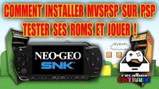 TUTO FR | Comment installer MVSPSP sur PSP, tester ses roms et jouer !