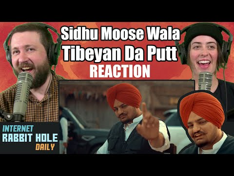 TIBEYAN DA PUTT (Full Video) Sidhu Moose Wala REACTION | Internet Rabbit Hole Daily