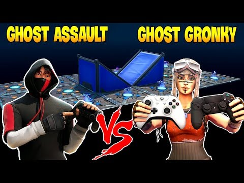 Ghost Assault  Challenges Ghost GronKy To 1v1 ( PS4 Player vs XBOX Player )
