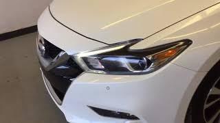 WHITE 2016 Nissan Maxima SV Review Sherwood Park Alberta - Park Mazda