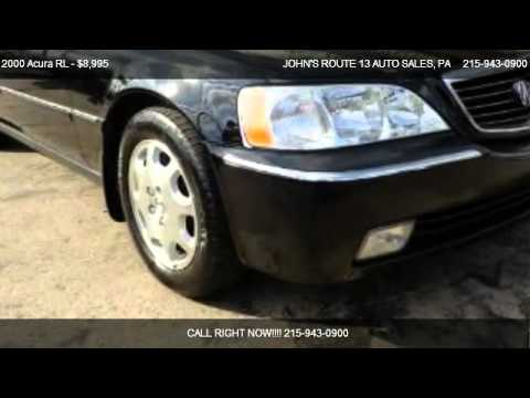 Acura RL For Sale In LEVITTOWN PA YouTube - 2000 acura rl for sale
