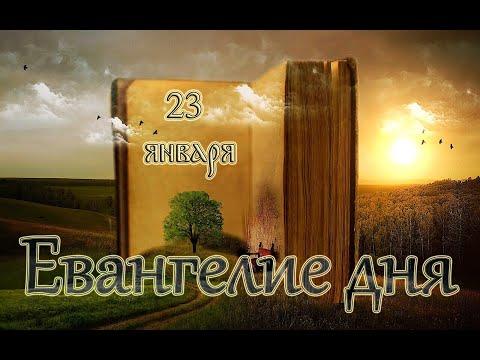 Евангелие дня. Чтимые святые дня. Cвт. Феофа́на, Затворника Вышенского (1894). (23 января 2020 г.)