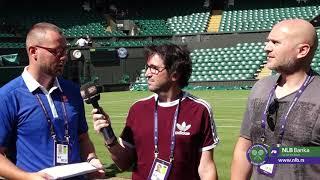 Sport Klub na Vimbldonu - Viško, Cvija i Ozmo najavljuju Vimbldon   SPORT KLUB Tenis
