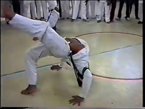 Rodas at the European Capoeira Meeting in Amsterdam 1996