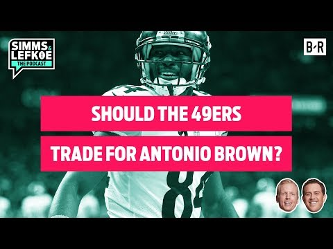 Should the 49ers Trade for Steelers WR Antonio Brown? | Divisional Round Film Notebook
