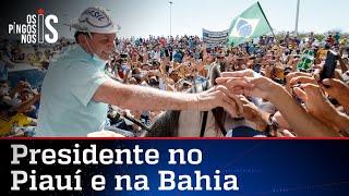 Bolsonaro vai ao Nordeste entregar obras