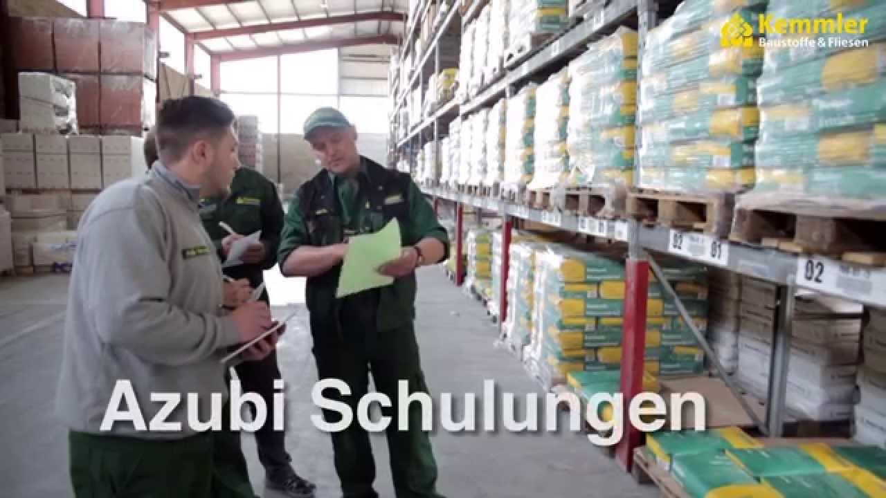Kemmler Horb ausbildung zur fachkraft für lagerlogistik bei kemmler baustoffe