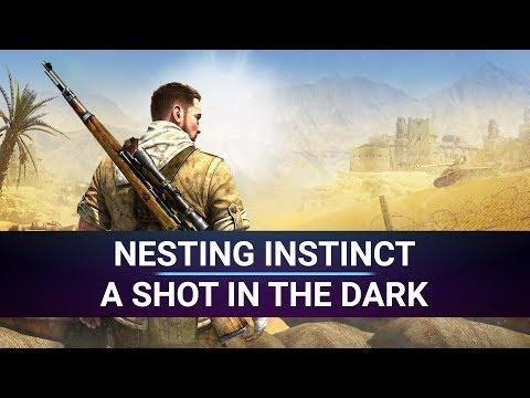 [Road to 100%] Sniper Elite 3 - Nesting instinct + A shot in the dark - Achievement Walkthrough |