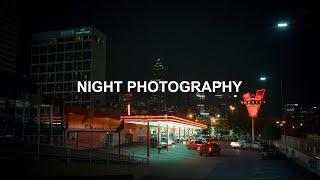 Nostalgic Night Street Photography (behind the scenes)
