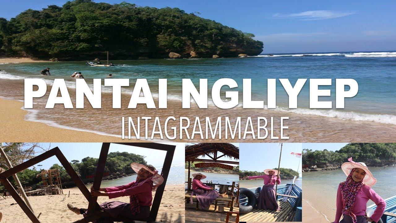 Pantai Ngliyep Eksotis dan Instagrammable