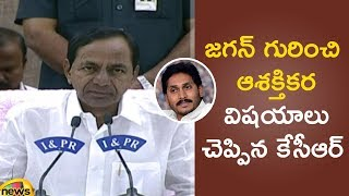 CM KCR About T-congress Manifesto And AP Opposition Leader YS jagan Mohan Reddy | Mango News