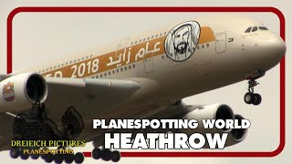 Planespotting World | London Heathrow 2018 | Teil 3