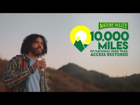 Celebrating 10,000 miles of national park trail access restored with Daveed Diggs