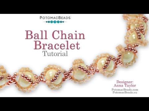 Make A Ball Chain Bracelet
