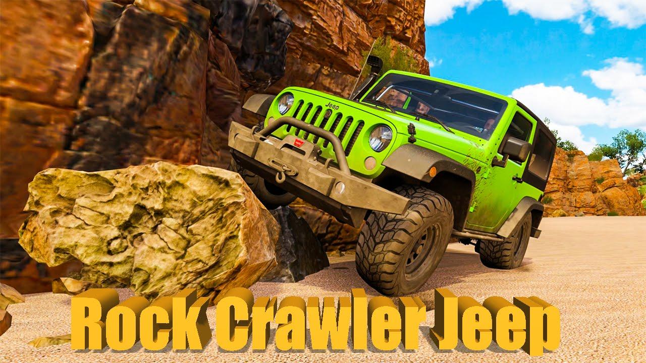 Forza Horizon 3 Jeep Wrangler ROCK CRAWLER Build/Tune ...