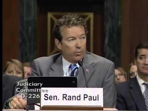 Sen. Paul Testifies Before Senate Judiciary Committee- September 18, 2013