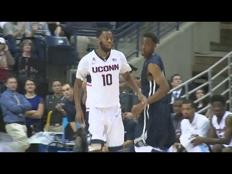 Sam Cassell Jr. leads Huskies in win over SCSU