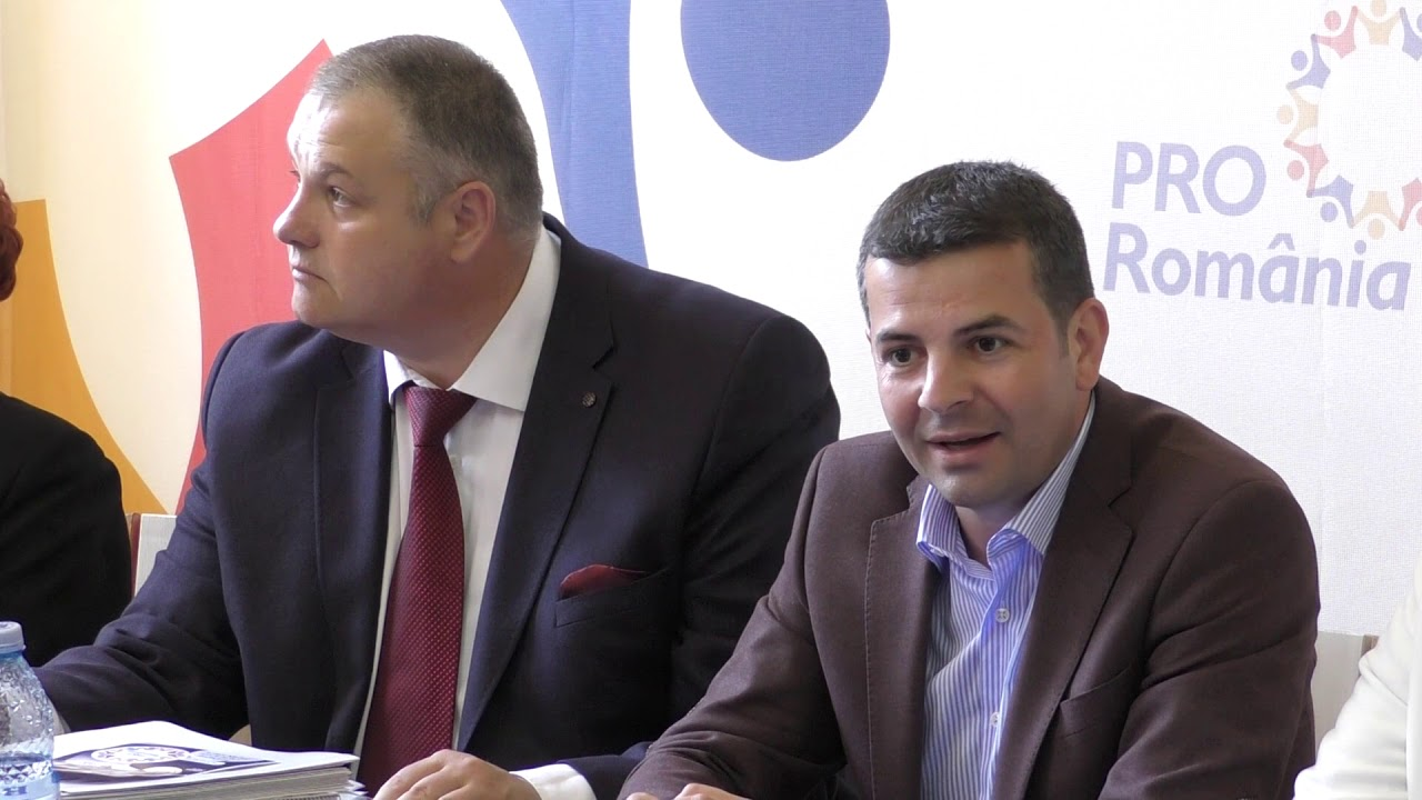 Conferință de presă Pro România Turda (17.05.2019)