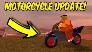 NEW ULTRA FAST MOTORCYCLE! (Roblox Jailbreak)