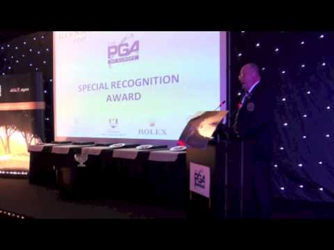 Special Recognition Award: Leif Ohlsson - PGAs of Europe Annual Congress Awards